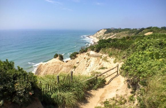 Week 46 – 'Snap to Recap' – Erin Leigh Ever After –  The Mohegan Bluffs on Block Island, Rhode Island